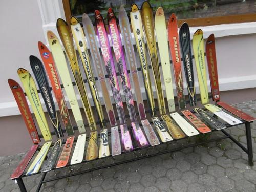 Deko Idee Mit Alten Skier